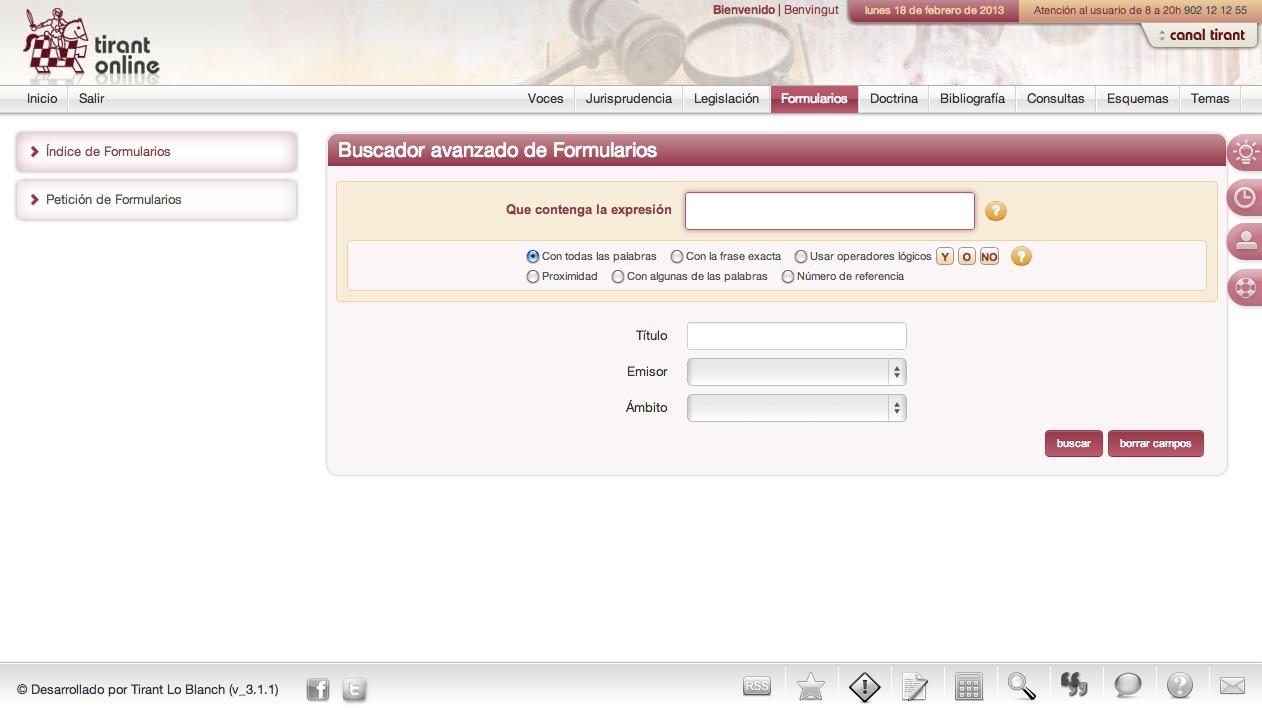 formularios procesales laborales: